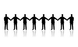 human-people-chain-vector-8957931